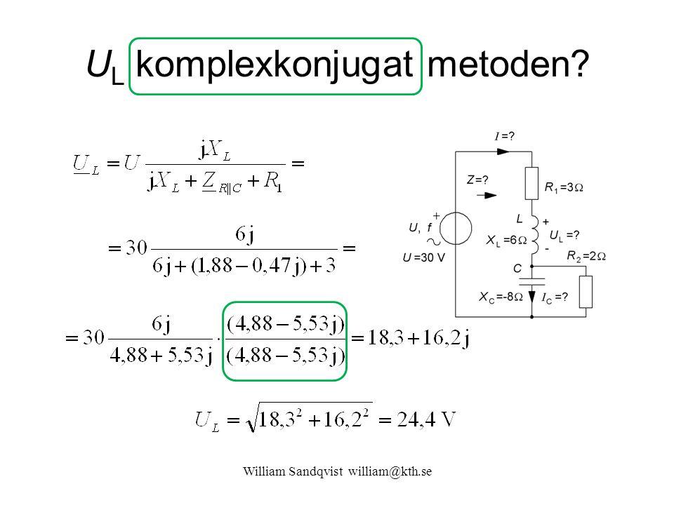 UL komplexkonjugat metoden