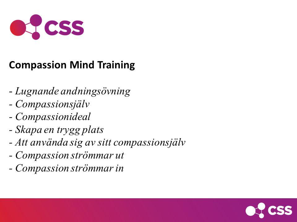 Compassion Mind Training