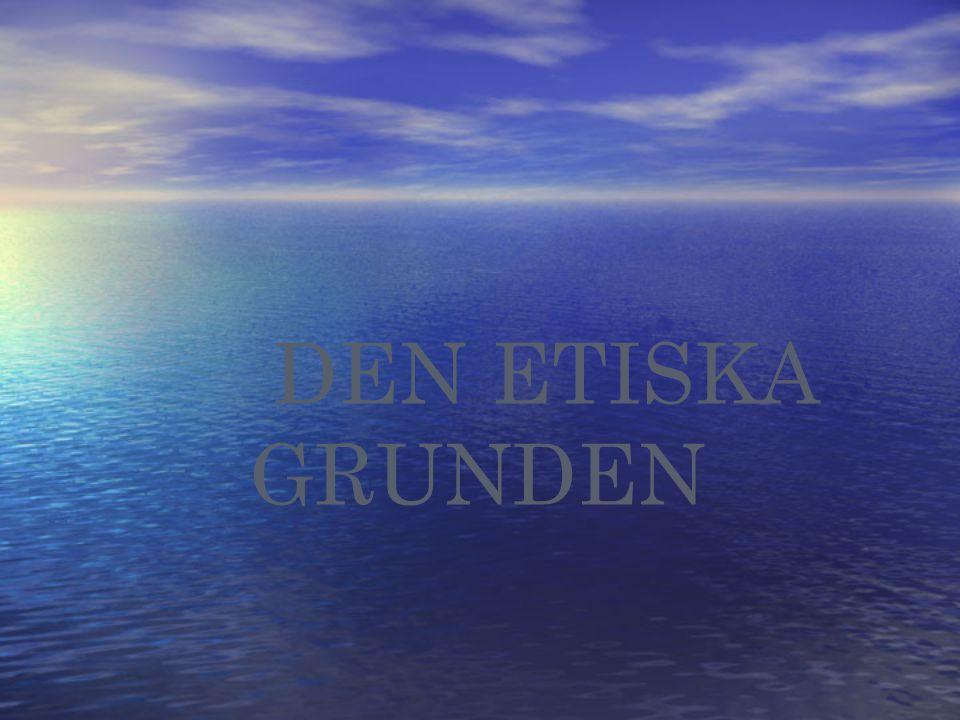 DEN ETISKA GRUNDEN 3