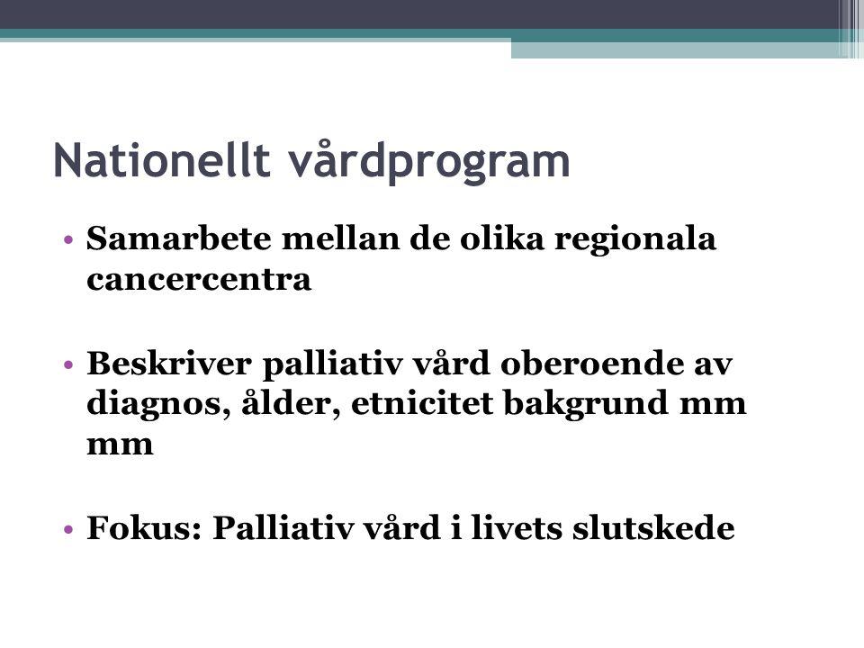 Nationellt vårdprogram