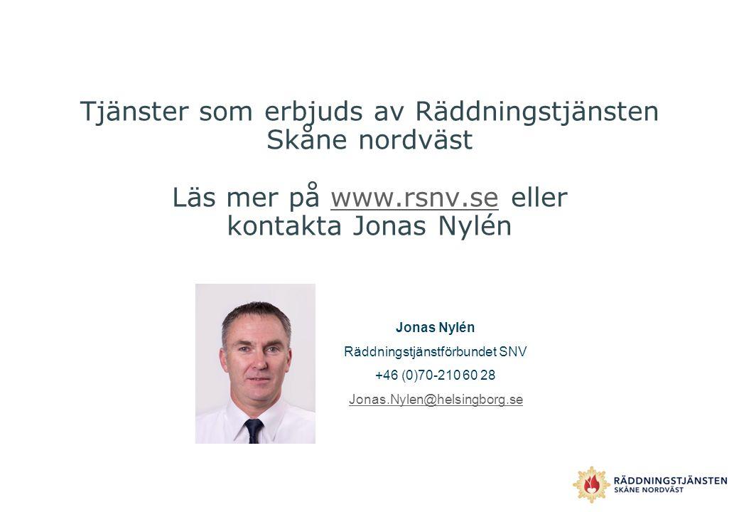 Räddningstjänstförbundet SNV