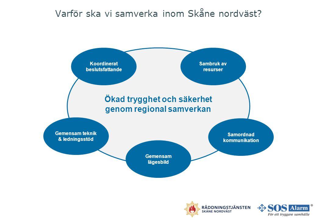 Varför ska vi samverka inom Skåne nordväst