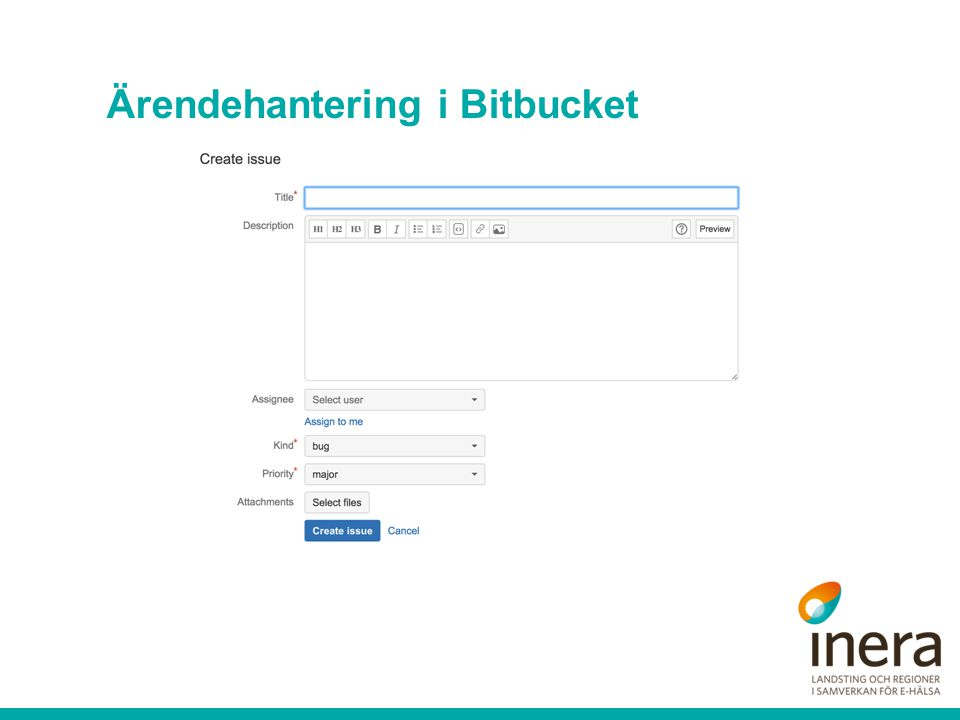 Ärendehantering i Bitbucket