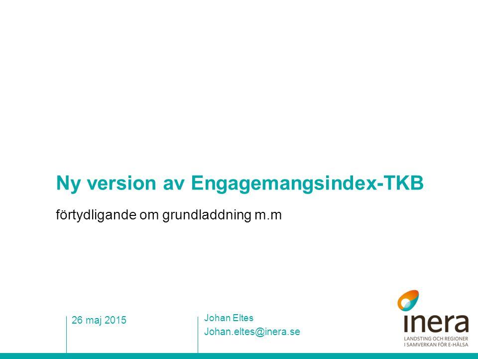 Ny version av Engagemangsindex-TKB