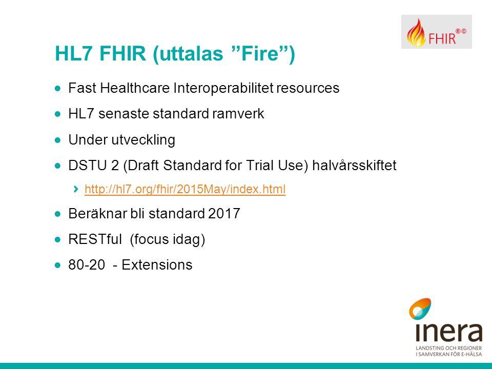 HL7 FHIR (uttalas Fire )