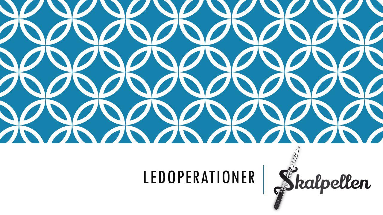 ledoperationer