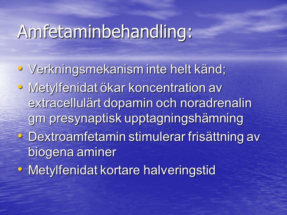 Amfetaminbehandling: