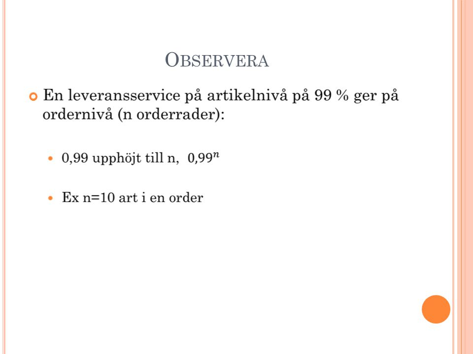 Observera