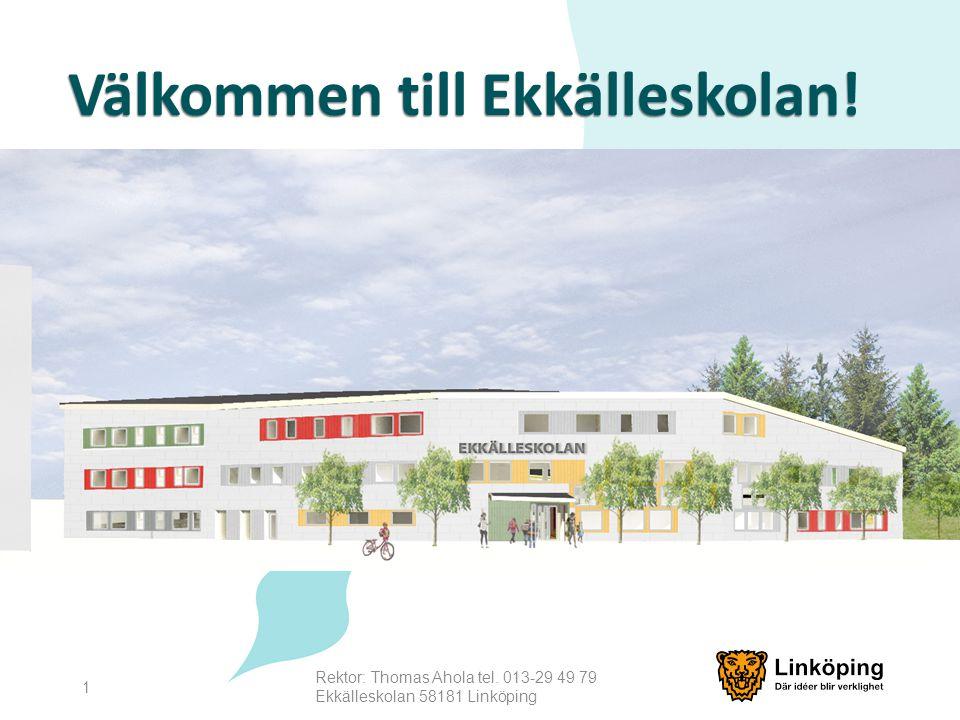 Välkommen till Ekkälleskolan!