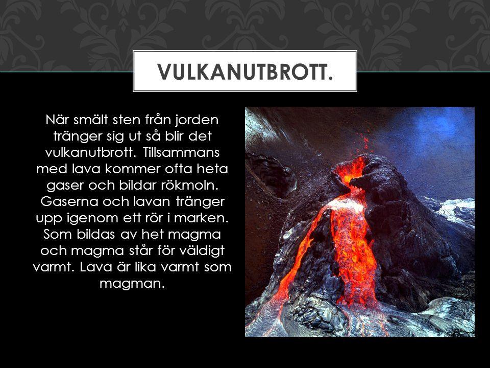Vulkanutbrott.