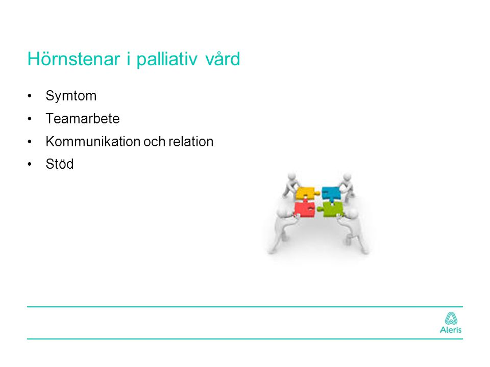 Hörnstenar i palliativ vård