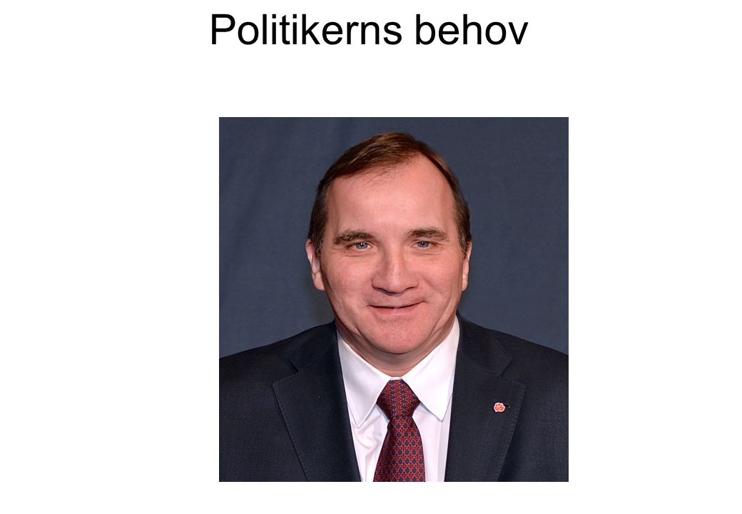 Politikerns behov