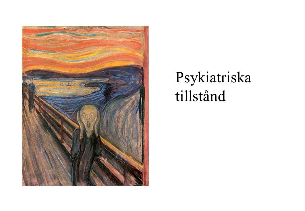 Psykiatriska tillstånd