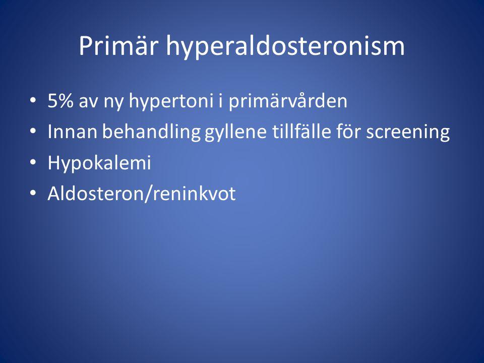 Primär hyperaldosteronism
