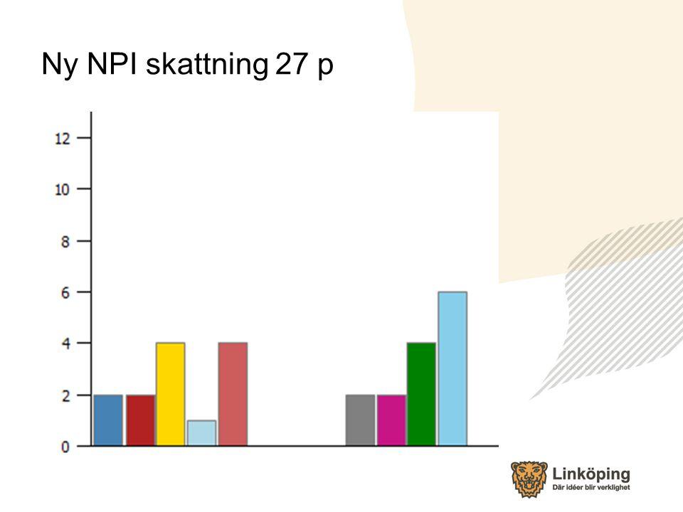 Ny NPI skattning 27 p
