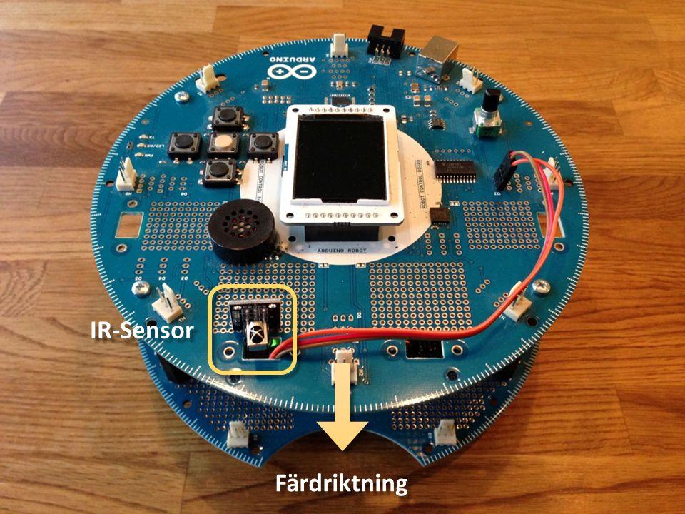 IR-Sensor Färdriktning