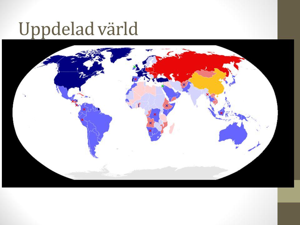 Uppdelad värld