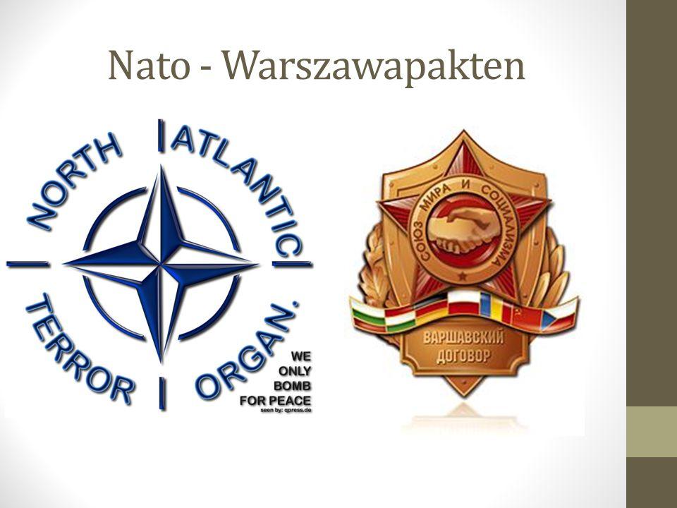 Nato - Warszawapakten