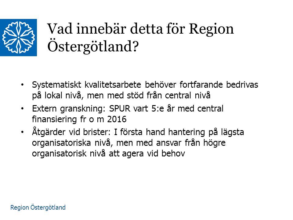 Vad innebär detta för Region Östergötland