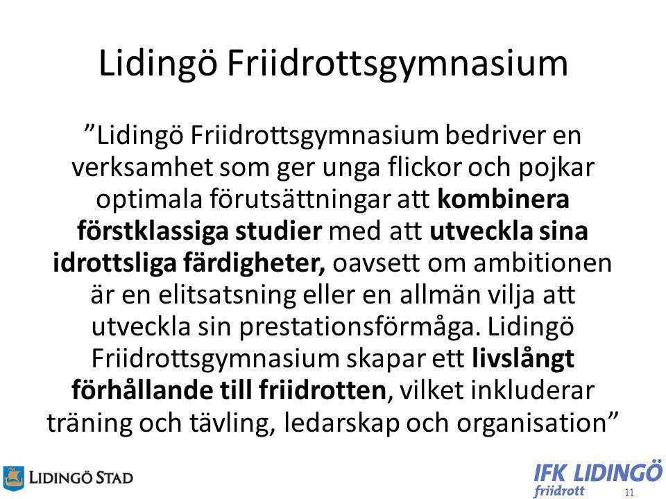 Lidingö Friidrottsgymnasium