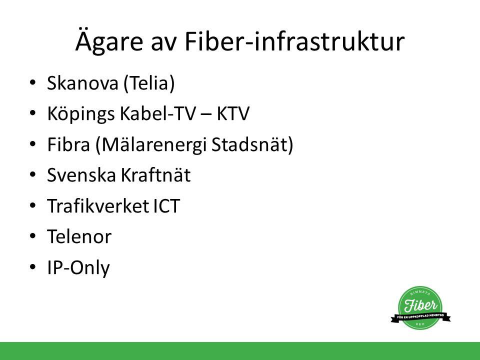 Ägare av Fiber-infrastruktur
