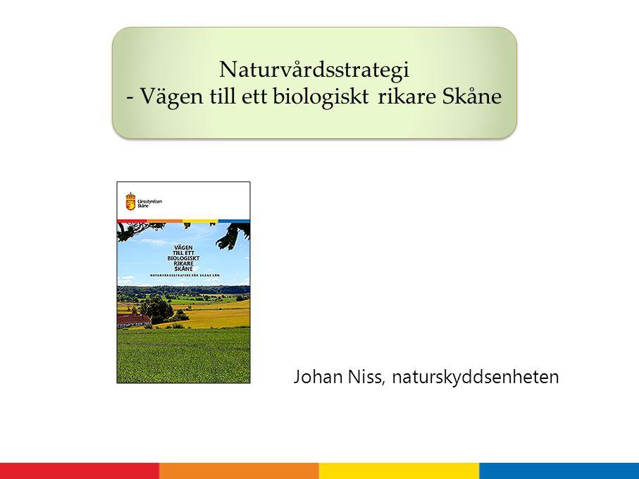 Johan Niss, naturskyddsenheten