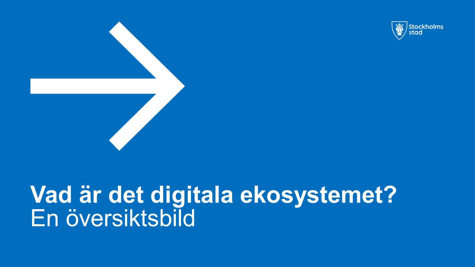 Vad är det digitala ekosystemet