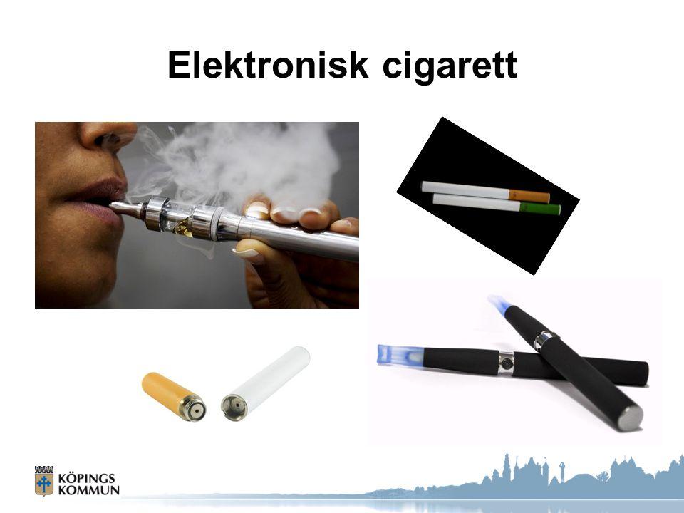 Elektronisk cigarett