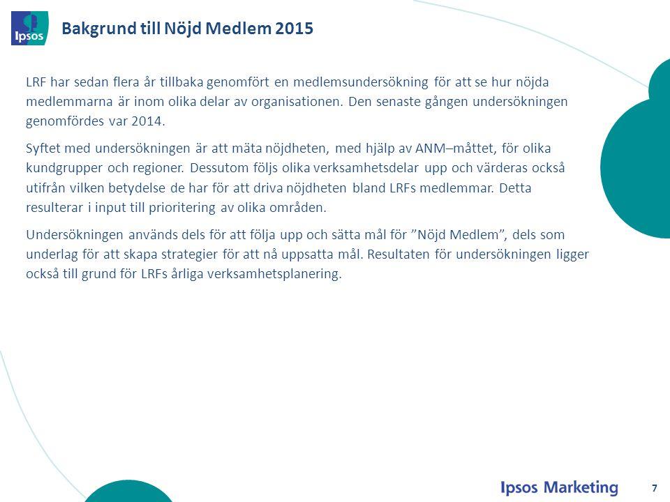 Bakgrund till Nöjd Medlem 2015