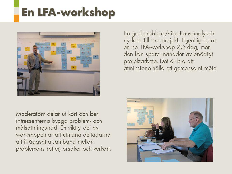 En LFA-workshop