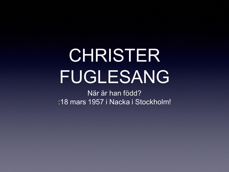 :18 mars 1957 i Nacka i Stockholm!