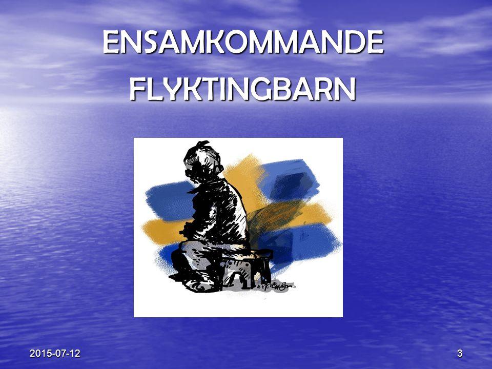 ENSAMKOMMANDE FLYKTINGBARN 2017-04-17