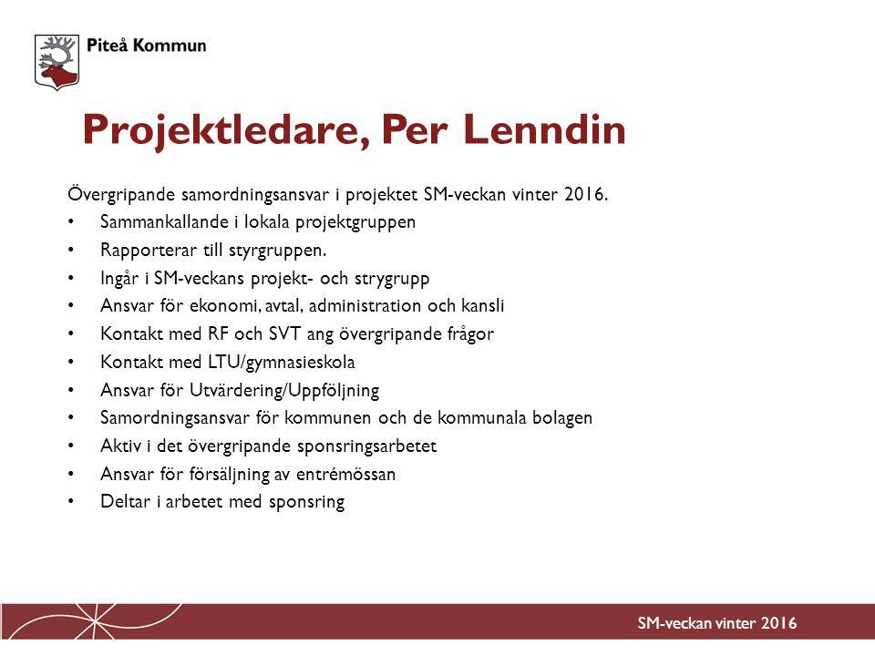Projektledare, Per Lenndin
