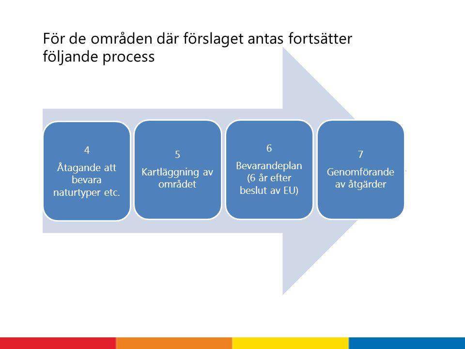 För de områden där förslaget antas fortsätter följande process