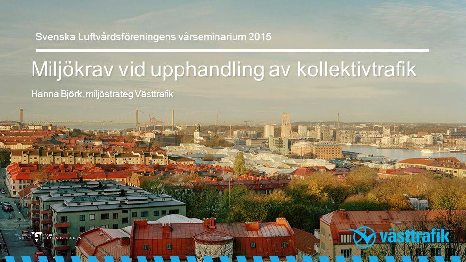 Svenska Luftvårdsföreningens vårseminarium 2015