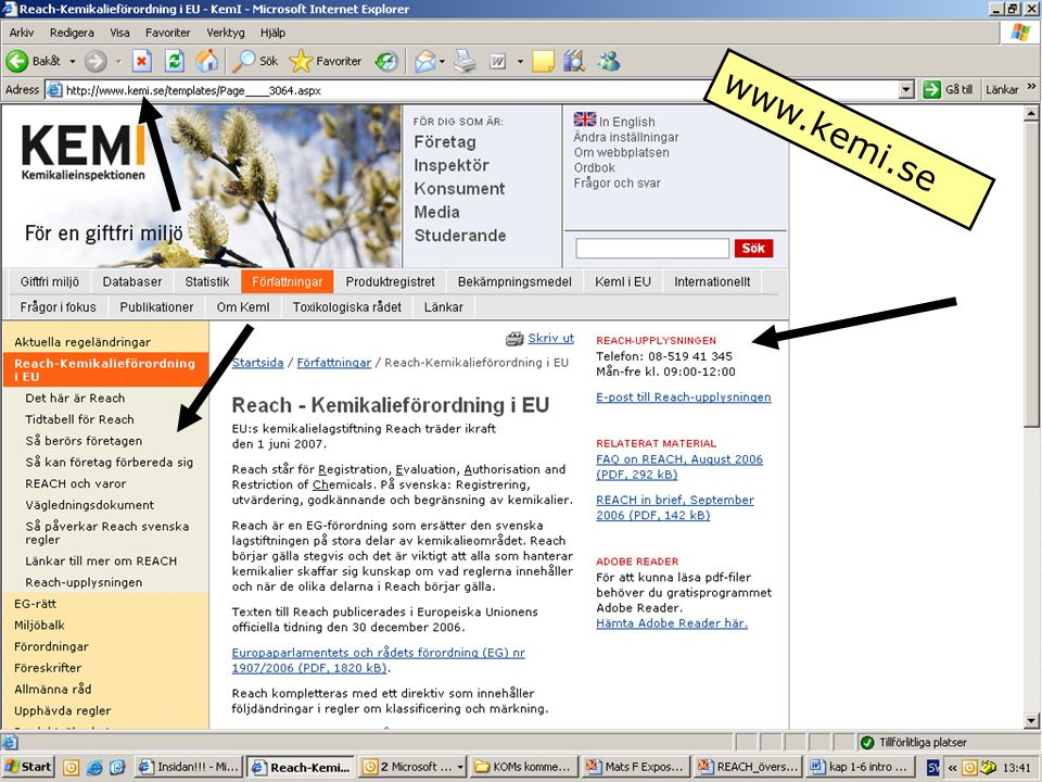 www.kemi.se