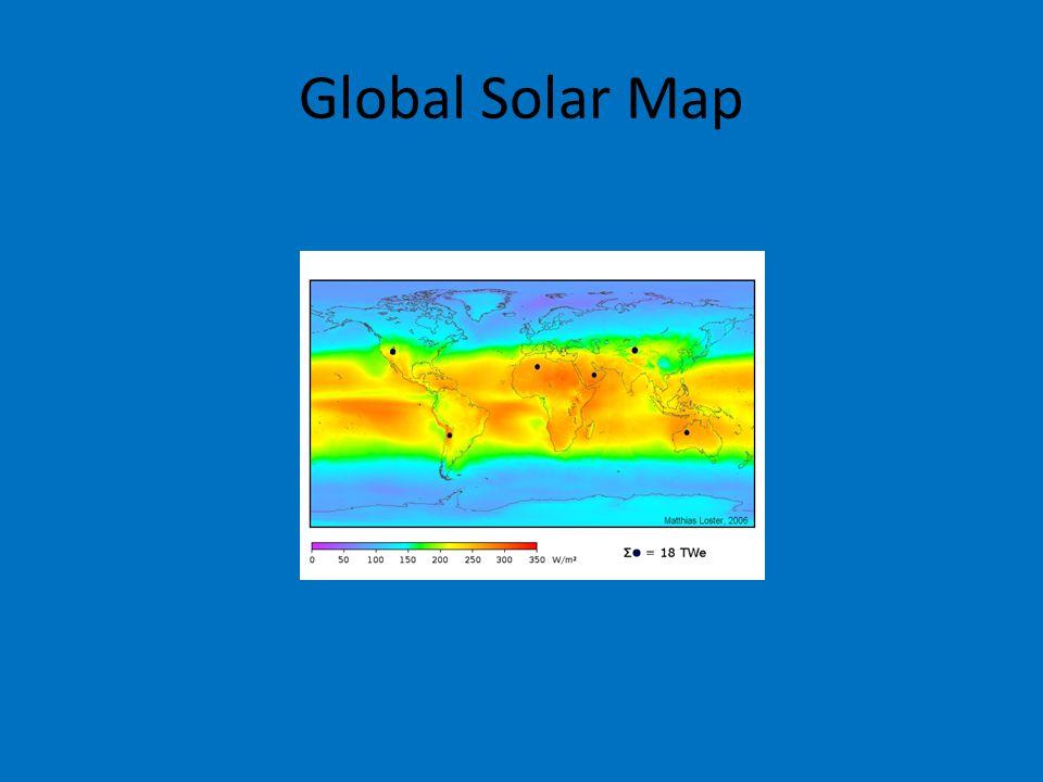 Global Solar Map