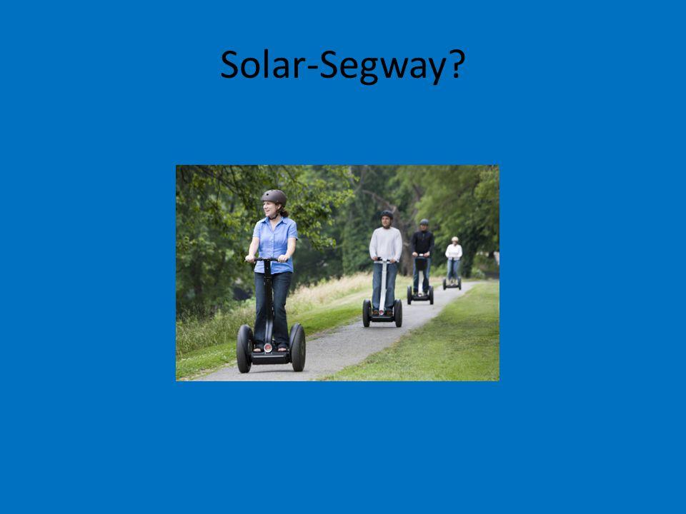Solar-Segway