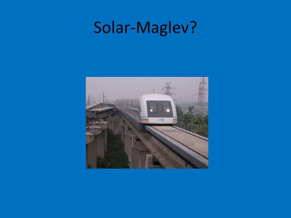 Solar-Maglev