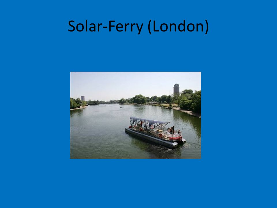 Solar-Ferry (London)