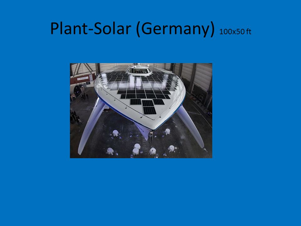 Plant-Solar (Germany) 100x50 ft