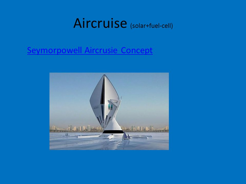 Aircruise (solar+fuel-cell)