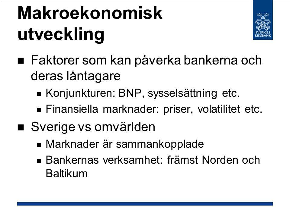 Makroekonomisk utveckling