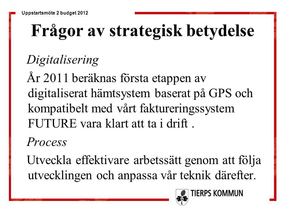 Frågor av strategisk betydelse