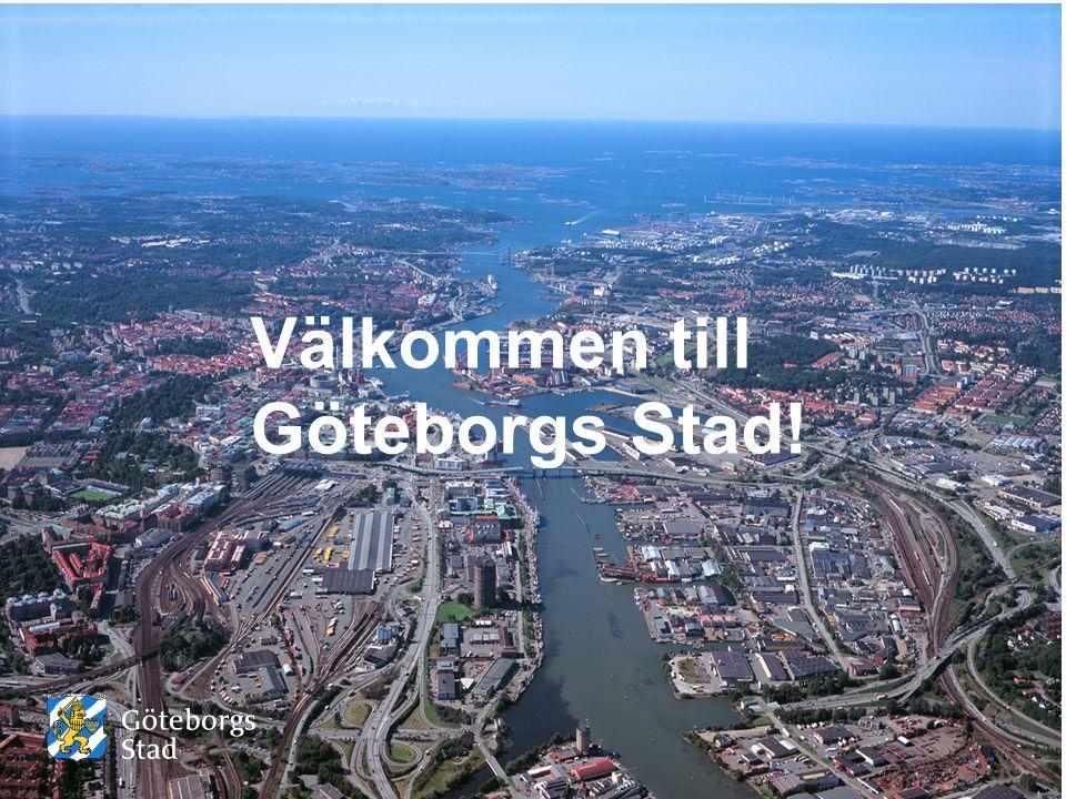 Välkommen till Göteborgs Stad!