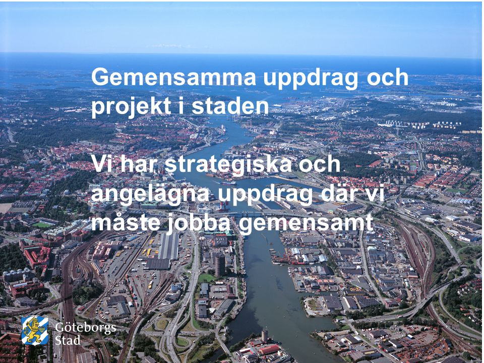 Gemensamma uppdrag och projekt i staden
