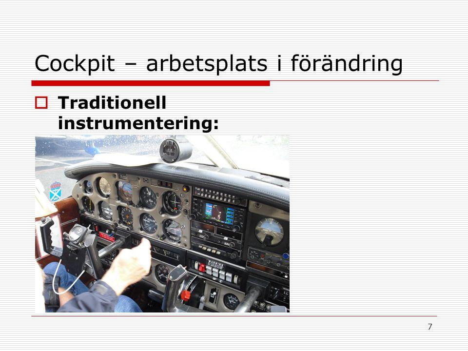 Cockpit – arbetsplats i förändring
