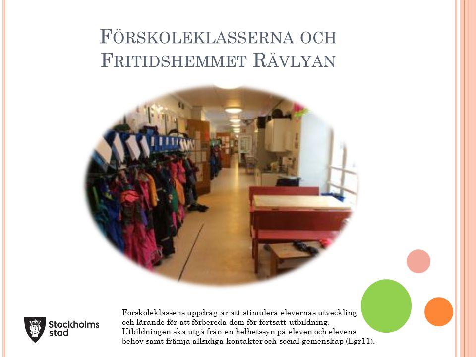 Förskoleklasserna och Fritidshemmet Rävlyan