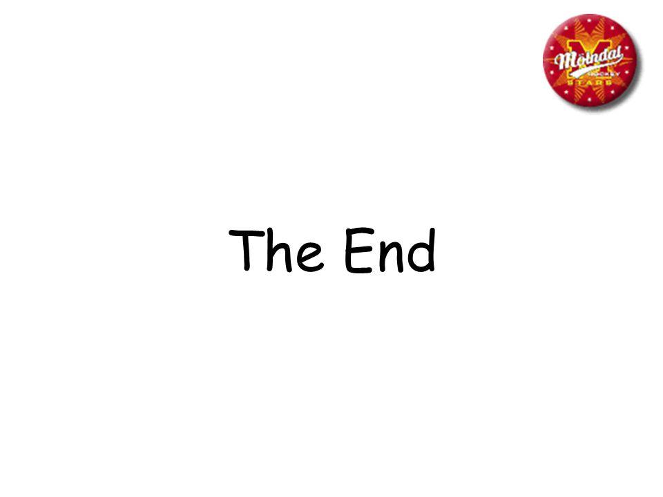 The End Anteckningar: