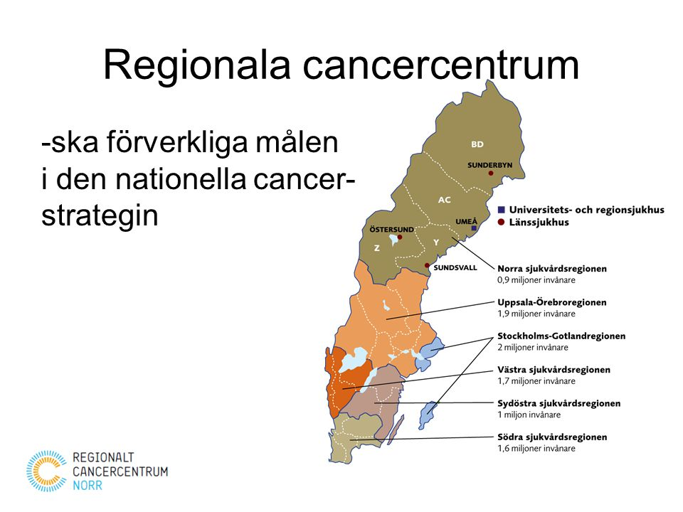 Regionala cancercentrum